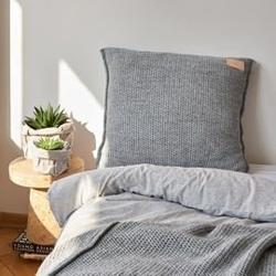 Moyha :: poduszka swetrowa szara