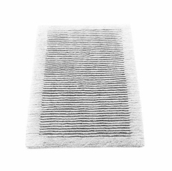 Dywanik łazienkowy Cawo ręcznie tkany 120 x 70 cm biały