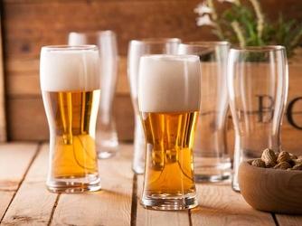 Szklanki do piwa hrastnik praga 500 ml, komplet 6 szt.