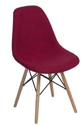 Krzesło p016w duo inspirowane dsw - szary jasny || czerwony