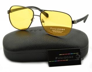 Rozjaśniające okulary do jazdy nocą dla kierowców polaryzacyjne polarzone pol-88y-2