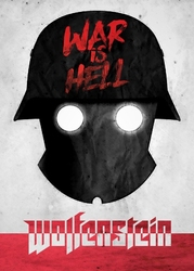 Old world propaganda - wolfenstein - plakat wymiar do wyboru: 60x80 cm