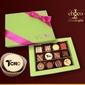 Czekoladki czekoladki na zajączka 3x4