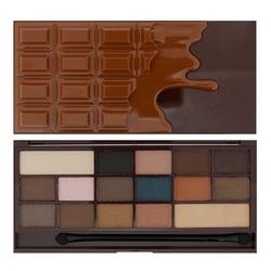 Makeup revolution paleta cieni do powiek chocolate salted caramel