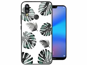 Etui Alogy Glass Armor Case do Huawei P20 Lite Liście - Liście