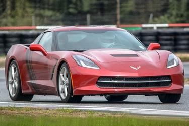 Jazda chevrolet corvette - kierowca - tor toruń - 1 okrążenie