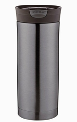 Kubek termiczny Contigo Huron 470 ml - Gunmetal bez logo - Grafitowy
