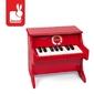 Czerwone pianino confetti