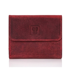 Czerwona portmonetka paolo peruzzi t-11