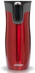 Kubek termiczny contigo west loop 2.0 470ml - czerwony - czerwony