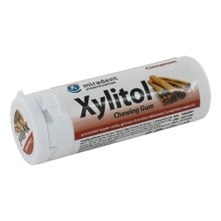Miradent xylitol cynamonowa guma do żucia