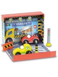 Zestaw zabawek garażvilac