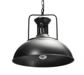 Żyrandol loft lampa sufitowa czarna vintage metal