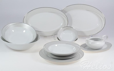 Serwis obiadowy bez wazy dla 12 os. 44 części - e615 yvonne