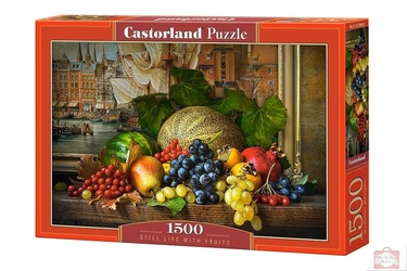 Castor puzzle 1500 still life with fruits 1868