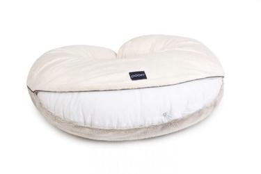 Poofi Pokrowiec na poduszkę do karmienia kremowo - szary