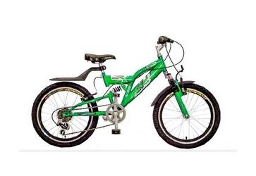 Rower r-land 20 arico kawasaki zielony