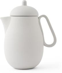 Dzbanek do zaparzania herbaty nina jasnoszary