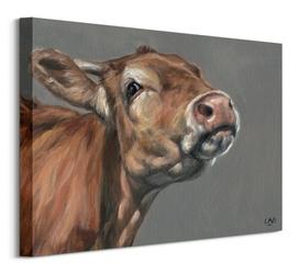 Snooty cow - obraz na płótnie