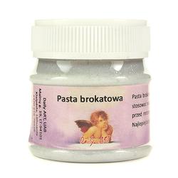 Pasta brokatowa Daily Art 50 ml - srebrna - SRE
