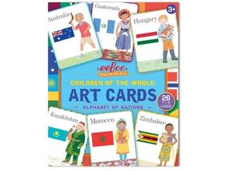 Dzieci świata karty do nauki angielskiego