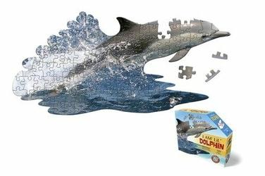 Puzzle I AM LIL - DOLPHIN - Delfin