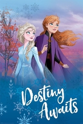 Frozen 2 destiny awaits - plakat