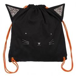 Meri meri - plecak czarny kot