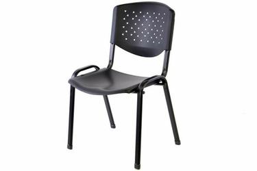 Krzesło biurowe konferencyjne - czarne