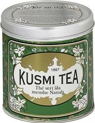 Herbata zielona z miętą spearmint puszka 250g