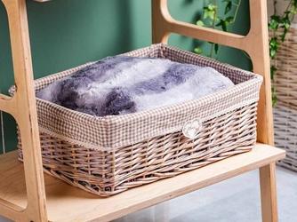 Koszyk wiklinowy do przechowywania  na owoce  chleb i pieczywo altom design home