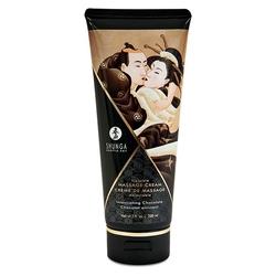 Krem do masażu ciała - shunga massage cream 200 ml czekolada