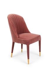 Bold monkey krzesło give me more velvet chair różowe bm11002