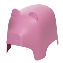 Siedzisko dziecięce piggy różowe - różowy
