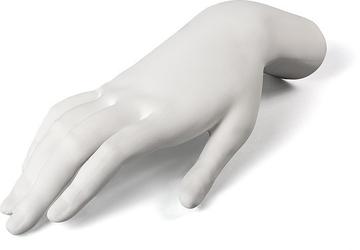 Dekoracja memorabilia mvsevm kobieca dłoń