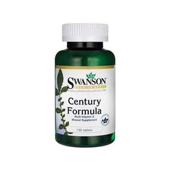 Swanson century formula 130 tab multiwitamina duże dawki usa