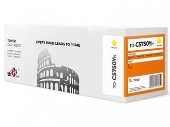 Tb print toner do oki c5750 to-c5750yn żółty 100 nowy