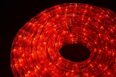 Wąż świetlny 480 led 20 m, czerwony