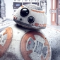 Star wars the last jedi bb-8 peek - plakat