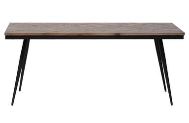 Be pure :: stół rhombic 180x90cm z drewnianym blatem