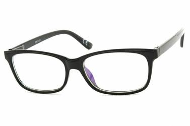 Okulary antyrefleksyjne zerówki nerdy prostokątne dr-112-c1