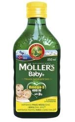 Mollers baby+ tran norweski cytrynowy 250ml