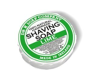 Dr k soap limonkowe męskie mydło do golenia 70 g