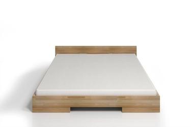Łóżko drewniane bukowe skandica spectrum niskie