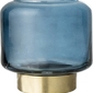 Świecznik bloomingville niebieski