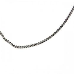 40 cm łańcuszek ogniwkowy szary 1 mm