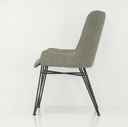 Krzesło tapicerowane adesso pikowane