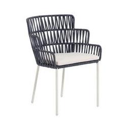 Krzesło ogrodowe roby szare