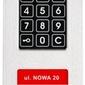 Laskomex cp-2533nr-4 wąski panel audio pionowy, ze stali nierdzewnej, z czytnikiem rfid i dłuższą listą lokatorów kompatybilny z modułem kam3-1 - szybka dostawa lub możliwość odbioru w 39 miastach