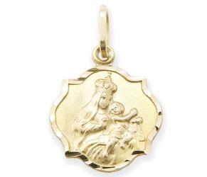 Medalik z wizerunkiem matki bożej - 22537